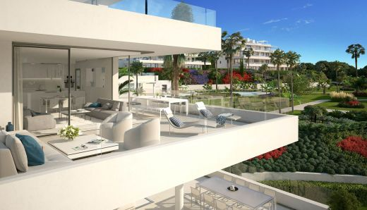 3 bedroom contemporary penthouse for sale in Marbella West