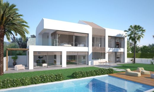 Front line beach villa in the New Golden Mile, Marbella West
