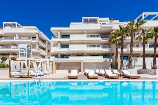 4 bedroom penthouse with stunning sea views for sale in Mijas Costa