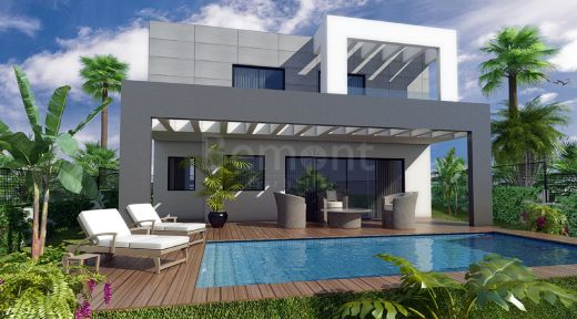 Modern new build villa for sale in La Cala Golf, Marbella East