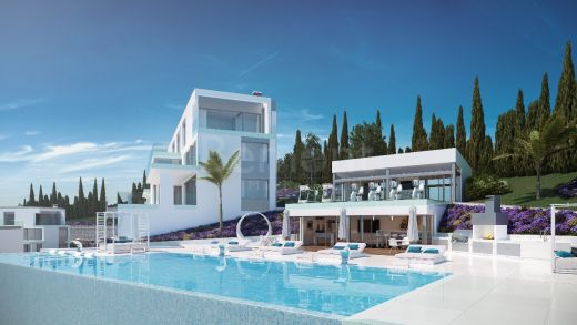 Brand new contemporary apartment in La Cala Golf, Marbella East