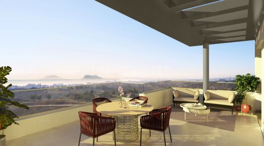 New Build modern penthouse for sale in Estepona