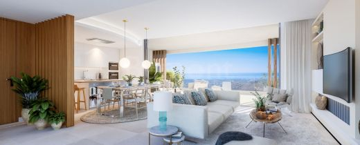 2-Bedroom golf penthouse with panoramic views for sale in Marbella West