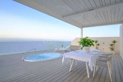 Luxury beachfront penthouse apartment for sale in Estepona