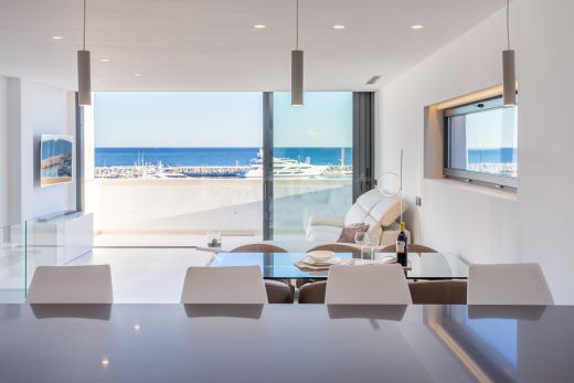 2-bedroom modern beach penthouse in Puerto Banús, Marbella