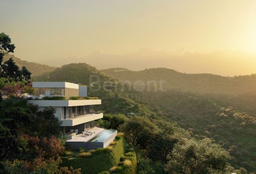 Brand new modern villa with sea views for sale in Benahavis