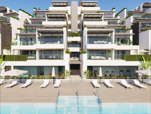 Beautiful modern apartments set in a privileged golf location