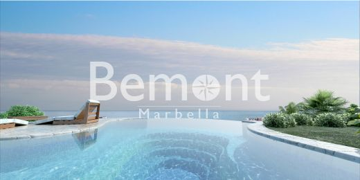 Beachside contemporary apartments with sea views for sale in Marbella East