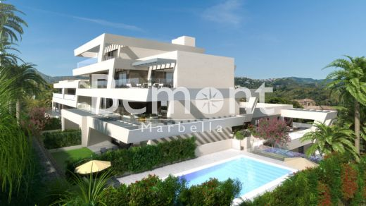 Contemporary apartments close to prestigious golf course and the beach for sale