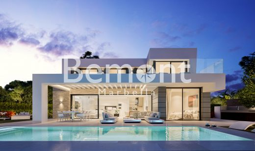 Brand new modern villas for sale in Marbella