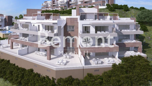Frontline golf apartments and penthouses with beautiful views for sale