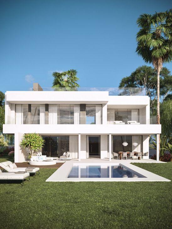 Ántik Villas es una promoción de villas contemporáneas con vistas al mar en Estepona.