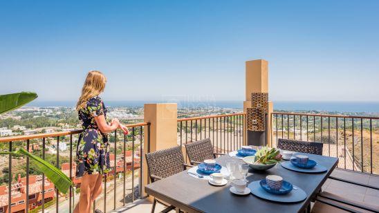 22 BY QUARTIERS, apartamentos a estrenar con increíbles vistas al mar y la costa en Benahavis
