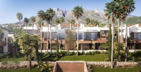 Le Blanc, exclusivas villas de diseño con vistas panorámicas en Sierra Blanca.