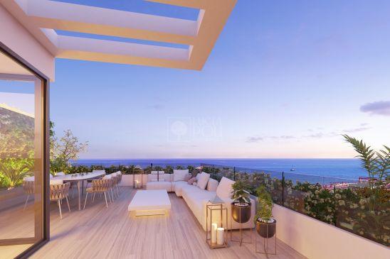 Oak 47, una elegante promoción de casas adosadas cerca de las playas de Fuengirola y Mijas Costa