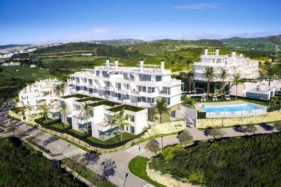 Terrazas de Cortesín Seaviews, apartamentos y adosadas con vistas al mar y al golf en Casares