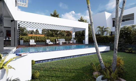 Lujosa villa a estrenar a tan solo 300 metros de la playa en Puerto Marina, Benalmádena