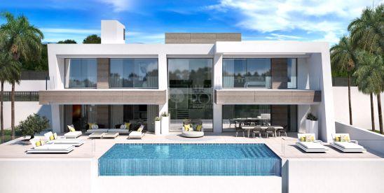 Light Blue Villas. Villas modernas de lujo de nueva construcción en Estepona