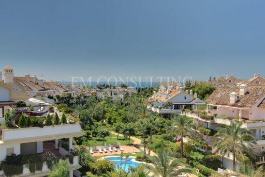 3 bedroom Duplex penthouse, Golden Mile, Marbella