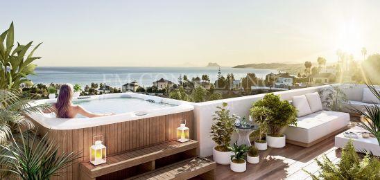 Apartamentos modernos con vistas al mar