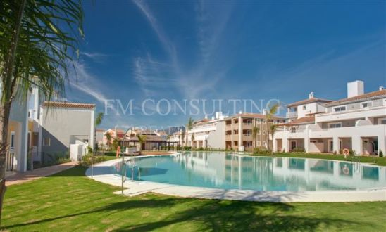 West facing, 2 bedroom apartment overlooking the pool and garden area