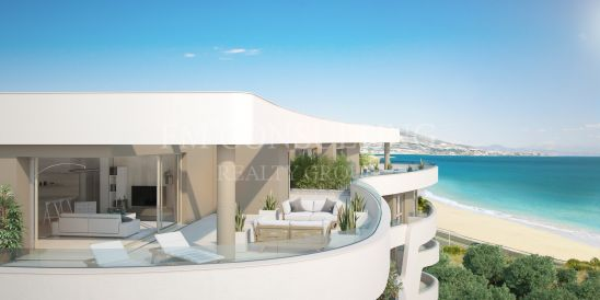 A luxury high-end boutique development of 39 contemporary style apartments with magnificent views over the sea and within a stones throw of the beach.