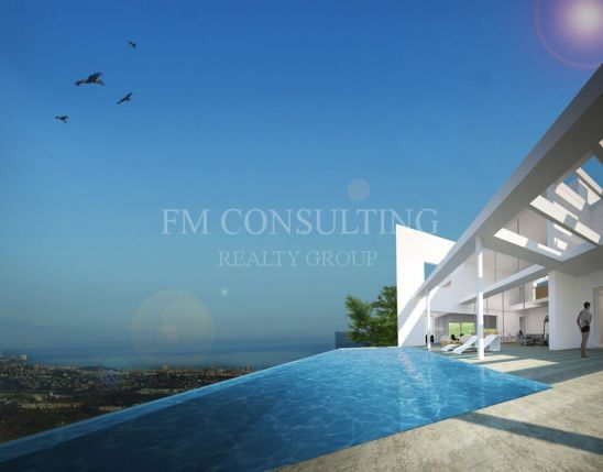 Spectacular views from this under construction villa