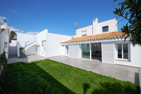 2 Houses Sold As One, close to Estepona. 5 minutes to the beach
