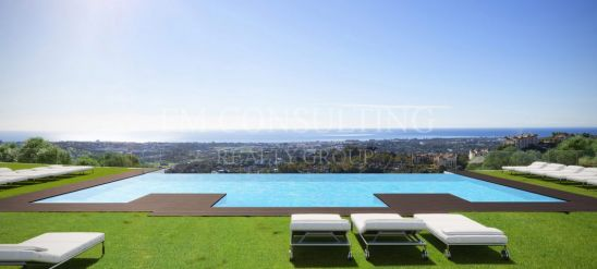 Luxury new build in the hills with stunning panoramic views