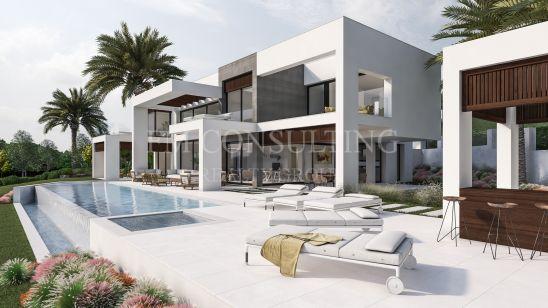 Una villa moderna con mucho estilo