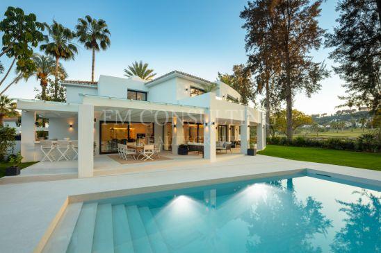 Villa espectacular en primera línea del golf