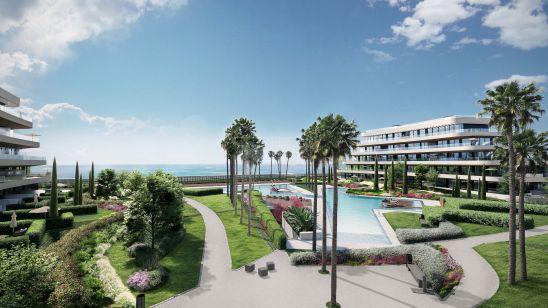 104 apartamentos de 1 a 4 dormitorios ubicados en primera línea de playa. Atan solo 800 metros del Parador Málaga Golf y a poco más de 10 minutos delcorazón de Málaga capital.
