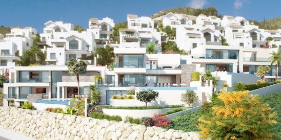 Retamar Santa Matilde, modernas villas con impresionantes vistas al mar en Benalmádena