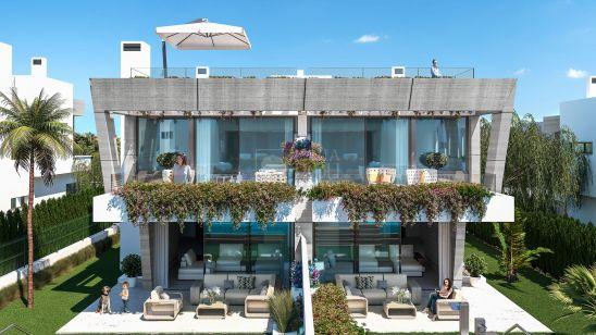 Semi Detached Villa for sale in Marbella Golden Mile, Marbella