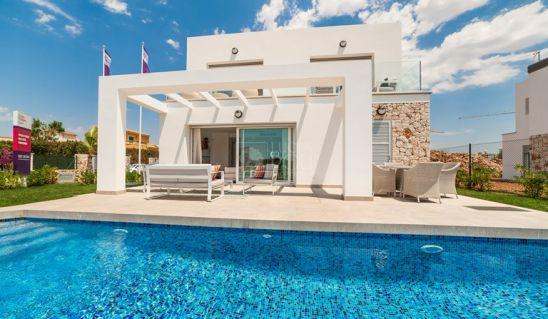 Las Villas de Dalt Sa Rápita, modernidad y confort en estas villas muy cerca del mar en la costa Sur de Mallorca