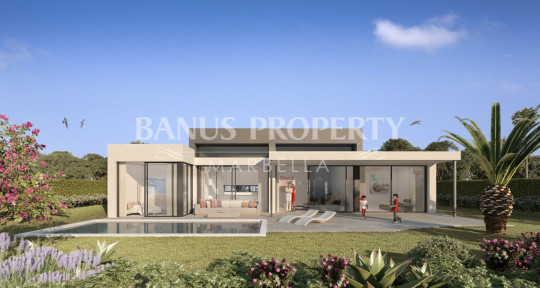 Marbella - Puerto Banus, Luxury contemporary three bedroom villa for sale just five minutes from Puerto Banús
