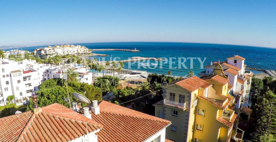 Marbella - Puerto Banus, 1 bedroom ground floor apartment for sale in Andalucia del Mar