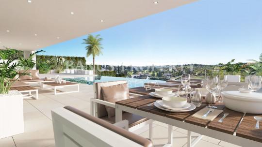 Marbella - Puerto Banus, Brand new ultra contemporary 5 bed villa for sale in Nueva Andalucia, Marbella