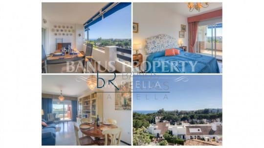 Marbella - Puerto Banus, 1 bedroom apartment, with sea views, in Medina Garden - Puerto Banus