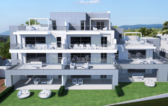 Marbella - Puerto Banus, 2 bedroom ground floor apartment for sale near the beach in San Pedro Alcantara