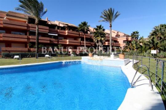 Marbella - Puerto Banus, 3 bedroom duplex penthouse for sale in El Embrujo Playa Puerto Banus