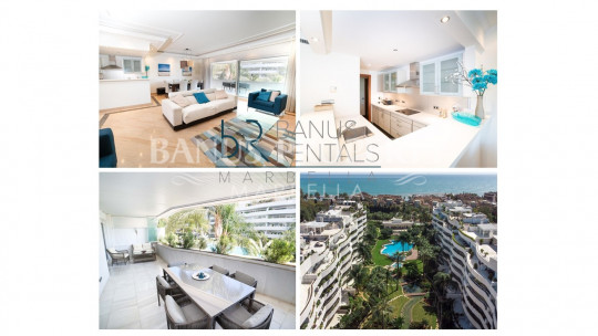 Marbella - Puerto Banus, Great and spacious apartment in El Embrujo de Banus