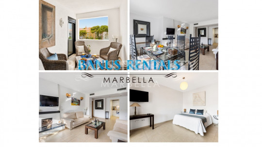 Marbella - Puerto Banus, Modern 2 bedrooms apartment in Playas del Duque - Puerto Banús