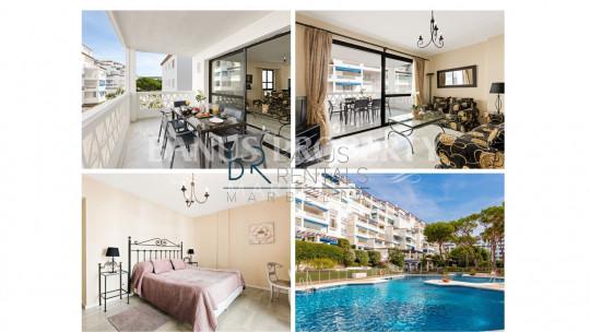 Marbella - Puerto Banus, Modern 2 bedroom apartment, with  gardens views, in Puerto Banús