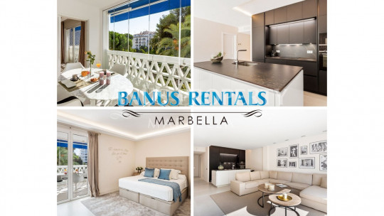 Marbella - Puerto Banus, Luxury 2 bebrooms apartment in Playas del Duque-Puerto Banús