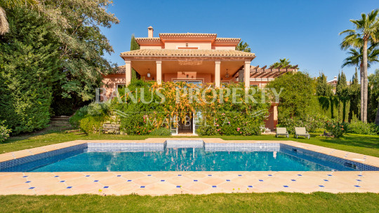 Benahavis, The Best Frontline Golf Villa Opportunity In Los Flamingos