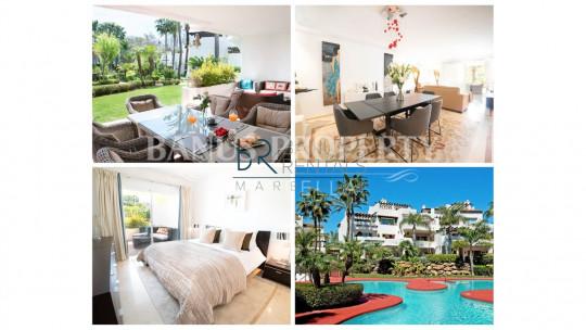 Marbella - Puerto Banus, Gorgeous Mediterranean style apartment  in Jardines de Ventura del Mar - Puerto Banús