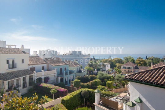 Marbella Golden Mile, Substantial luxury ten-bedroom townhouse with panoramic views to the sea for sale on Marbella's Golden Mile