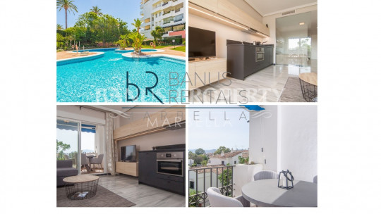 Marbella - Puerto Banus, Modern studio apartment in Medina Garden - Puerto Banús
