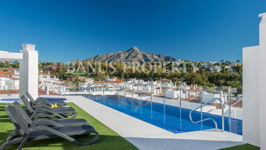 Nueva Andalucia, Brand new modern three bedroom apartment for sale just five minutes' drive to Puerto Banús